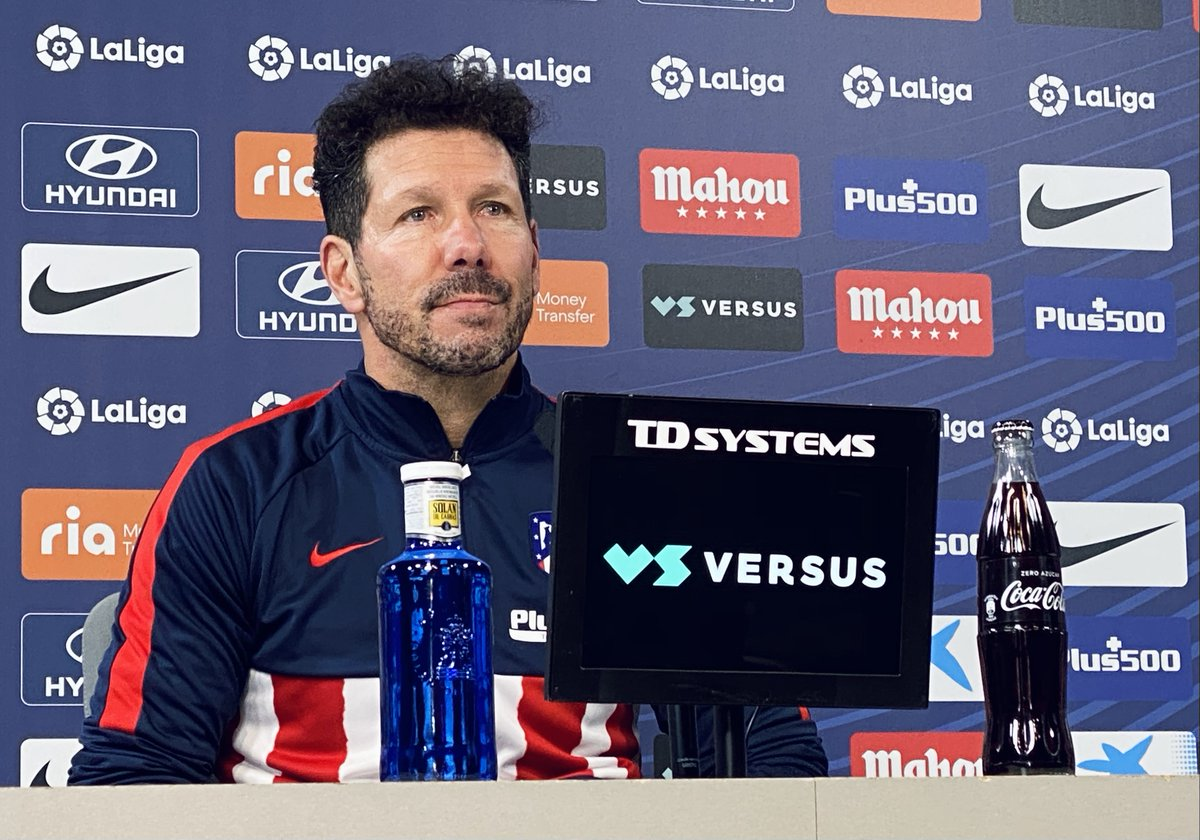 🎙 @Simeone talks ahead of tomorrow's game⤵️  ❝Our team is looking to continue growing.❞  🔴⚪ #AúpaAtleti | ⚽ #AtletiRealValladolid