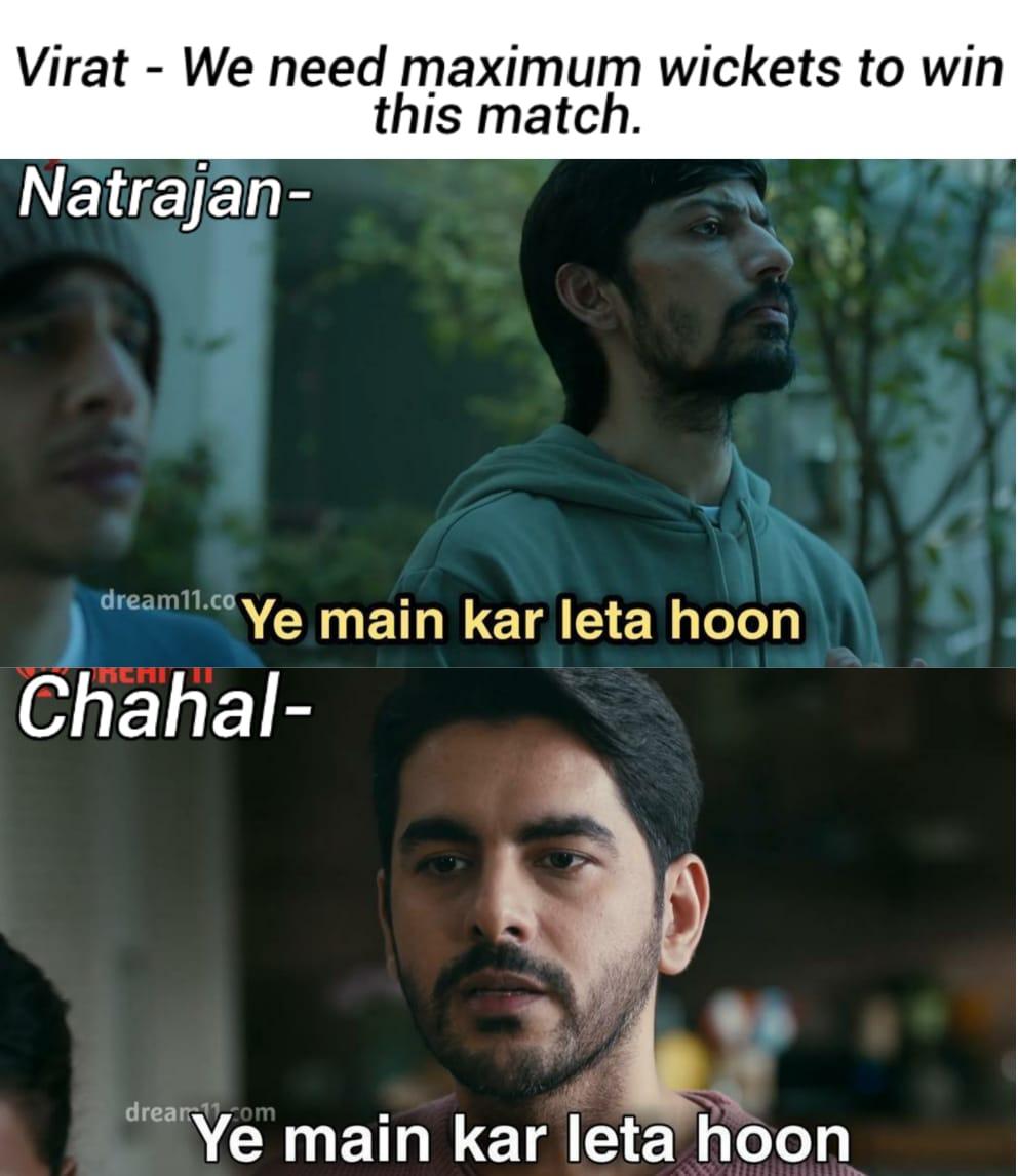 Good game for both  #YeMainKarLetaHoon