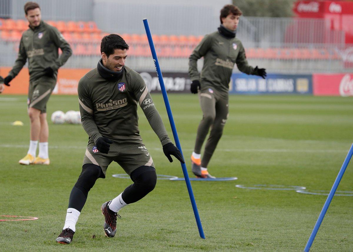 Welcome back, @LuisSuarez9! 🤩  🔴⚪ #AúpaAtleti