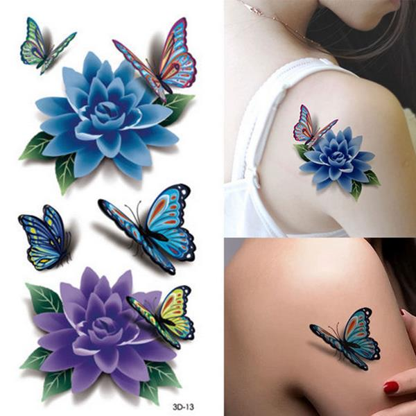 #flashdeal #discount Colorful 3D Butterfly Flower Rose Tattoo Sticker Waterproof Temporary Decal DIY Body Art https://t.co/akUR53UhI6 https://t.co/7OQF1T7Q31