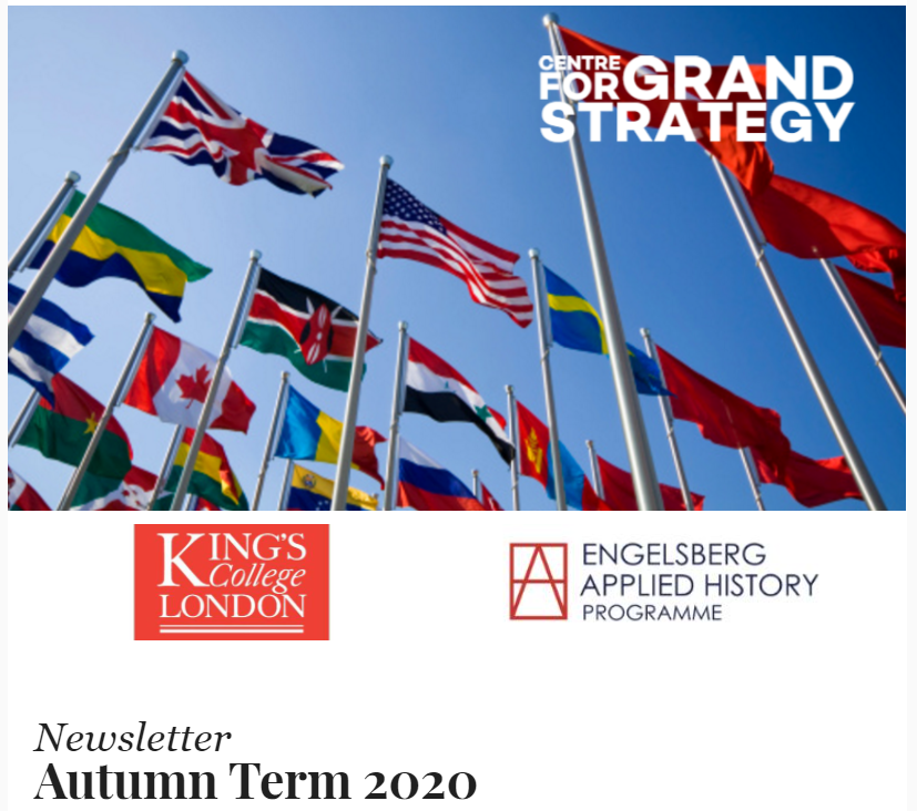 Centre for Grand Strategy - Autumn Term News & Events - mailchi.mp/4eb4638fc3ee/n…