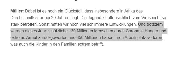 Warum ist CSU-Bundesentwicklungshilfeminister Müller nicht lauter zu hören? @csu_bt @csu_lt @CDU_CSU_EP @Markus_Soeder