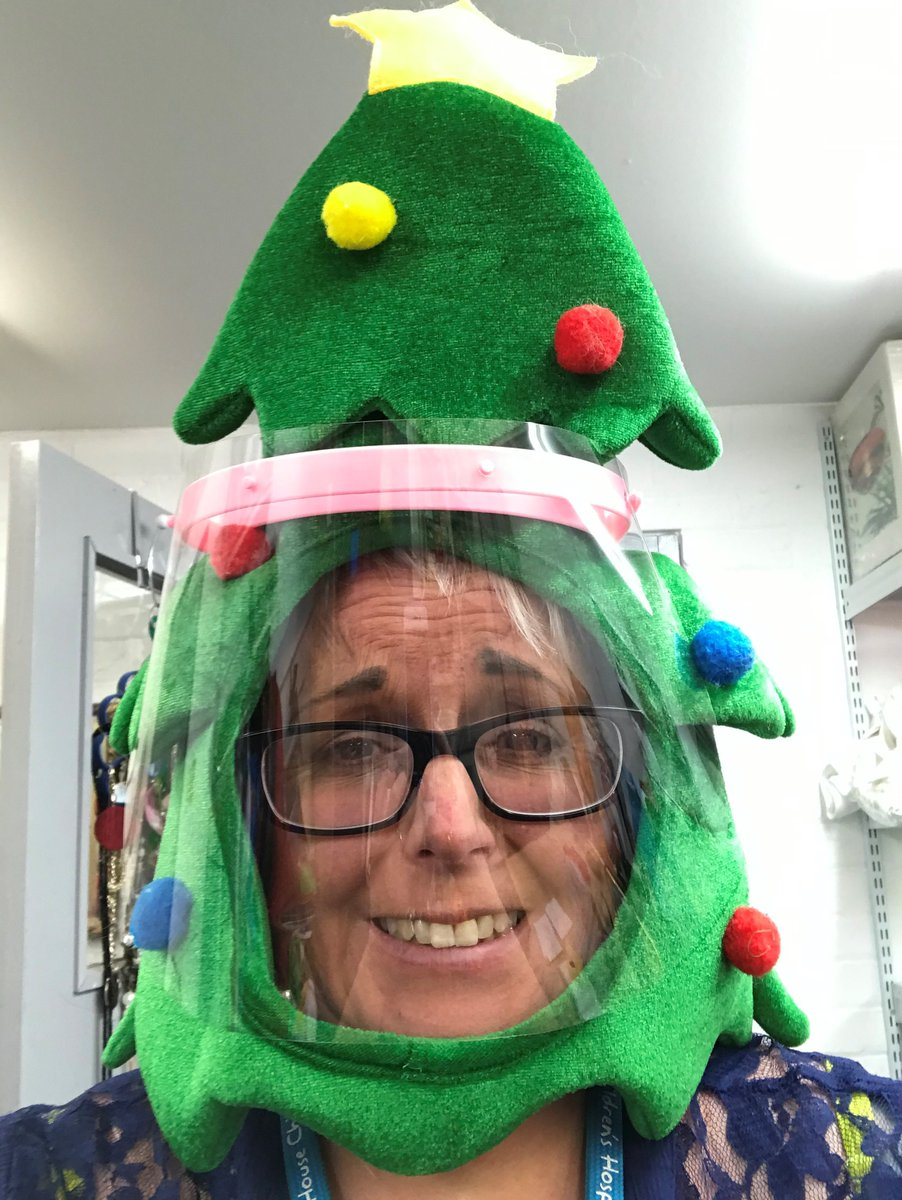 Our Irby Shop Manager is wearing a very 2020 Christmas Hat - thank you for getting involved in #ChristmasHatDay
