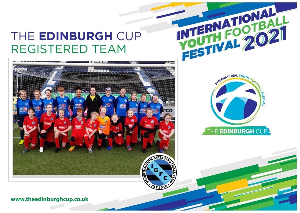 🤝 | We are delighted to welcome Invergordon Girls U13s to The Edinburgh Cup 2021.  Don't miss out on the UK's BIGGEST & BEST youth football event held in Edinburgh this summer.  Request a BROCHURE - https://t.co/tXcD3IXQXg REGISTER - https://t.co/1iMH9g0Npu  #theedinburghcup https://t.co/OGEDZweqTP