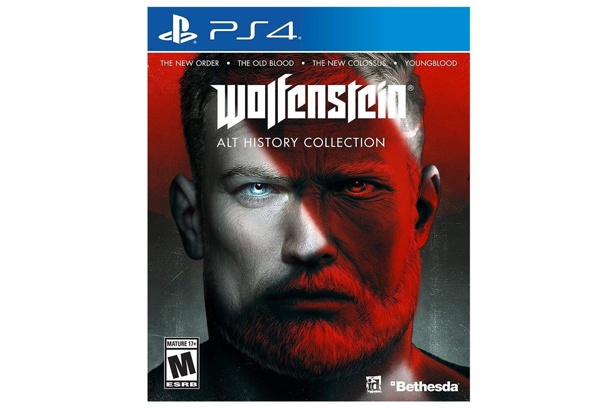 Wolfenstein: The Alternative History Collection (PS4/X1) $29.99 via Amazon (Prime Eligible). 2