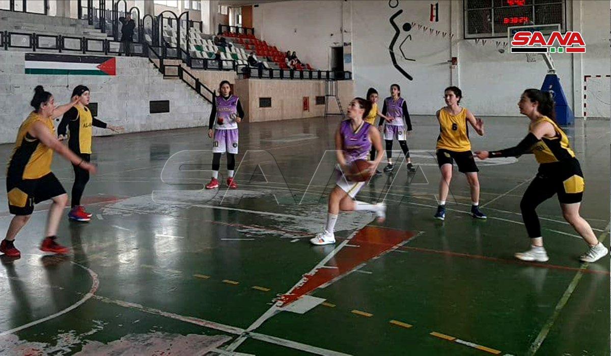 صور سانا فوز الفيحاء على العربي فى دوري كرة السلة للسيدات تصوير راغدة جمال