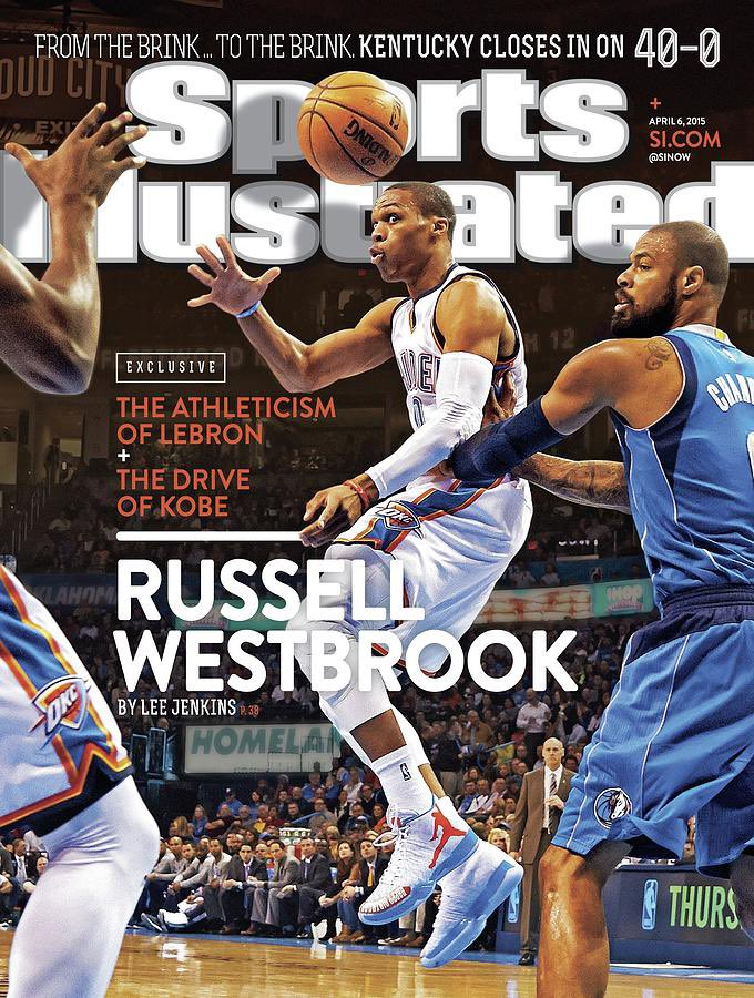 With Russell Westbrook being traded to the Wizards, here's his first Sports Illustrated cover from April 6, 2015 #NBA #NBATwitter  #fridaymorning #FridayFeeling #finallyfriday #cgc #candleday #Wizards #Washington