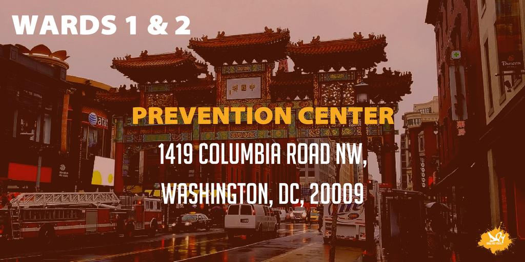 Our DCPCs are dedicated to helping you find the resources you need to keep your community drug-free. The DC Prevention Center for Wards 1 & 2 is @Dcpc1and2!  Follow them to know what's happening near you.