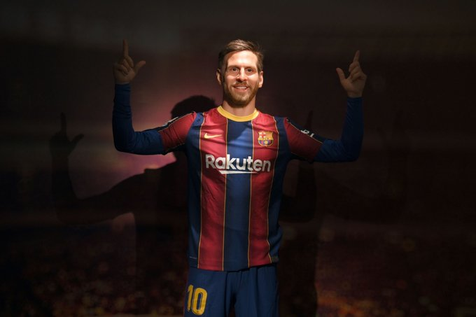 Thoughts on the new wax work at Camp Nou, So far ive heard it looks like Pjanic, Ramsey and Oblak, in-fact everyone but Messi  It's not as bad as the Ronaldo one though ? Surely  #FCBARCELONA #MESSI