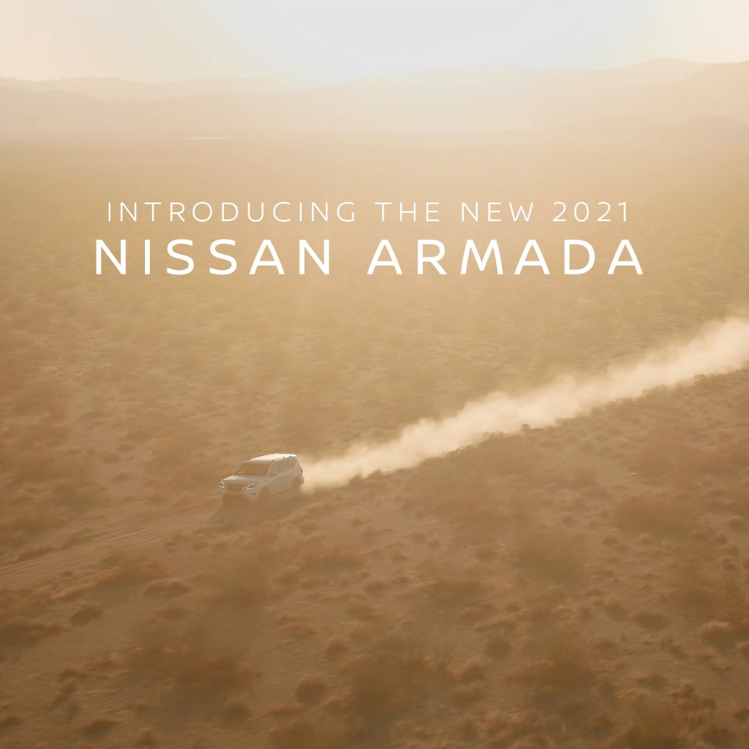 Image for the Tweet beginning: Tame the wild. 12.8.20  #NissanArmada2021
