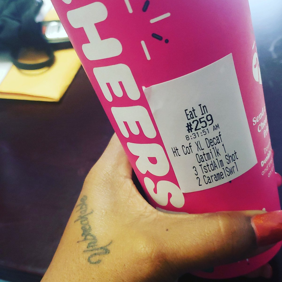 Happy FriYay... Drink More Dunkin☕ #TaxTwitter #Dunkin #Coffee #coffee #fridaymorning #SmallBusiness #SmallBusinesses #Entrepreneur #Entrepreneurship #accountant #Accounting