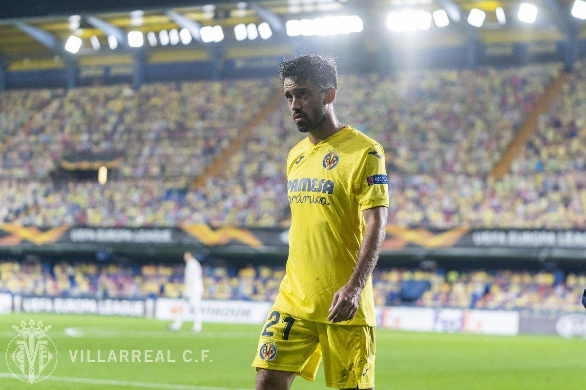La camiseta oficial del #Villarreal para la @EuropaLeague, ya disponible en las Tiendas Oficiales 🛍️.  👉