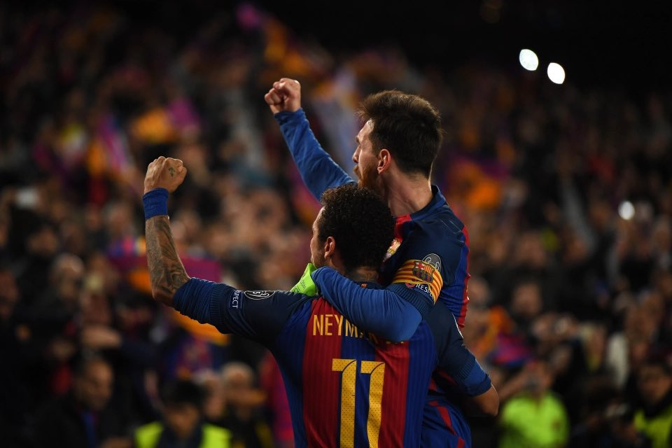 """🎙Rivaldo 🇧🇷: """"When Neymar 🇧🇷 says he wants to play with Messi 🇦🇷 again, he must know something about the possibility of PSG signing Leo. I don't think Neymar would say that just to say it. Surely, he knows something."""" #Messi #PSG"""