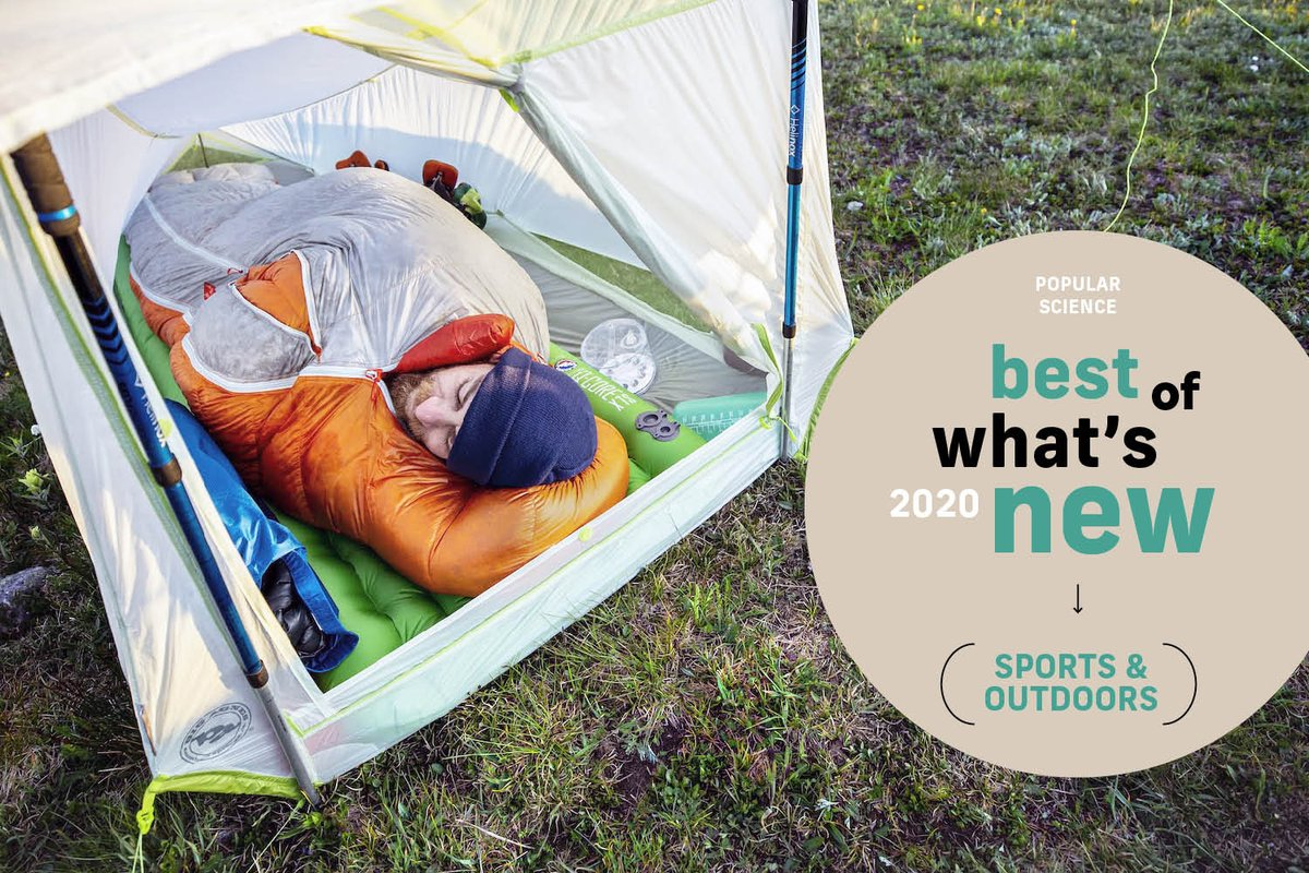 Jackets that soak up the sun and don't warm the planet. Recycled plastic bottles that don't suck. An expandable sleeping bag. Faster mattress inflation. AI-designed golf clubs.  The 8 most exciting sports and outdoor products of 2020:  #BestOfWhatsNew
