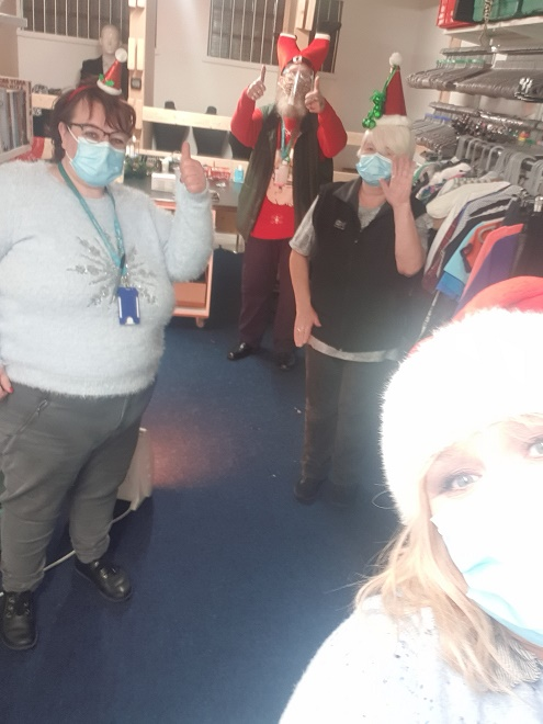 Happy #ChristmasHatDay from our Rhyl and Norris Green shops!! 🎅🎅🎅🎅
