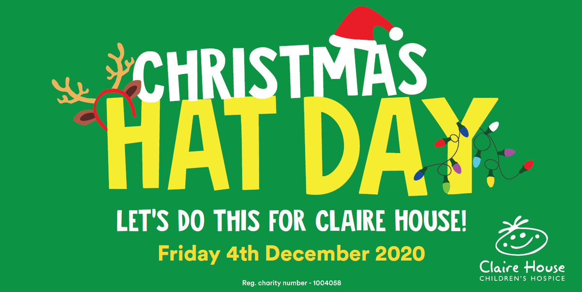 Delighted to show our support and get involved with the @ClaireHouse Christmas Hat Day this morning.  If you would like to show support and make a donation yourself, it can be done so by following this link: .   Any donations will be greatly appreciated.