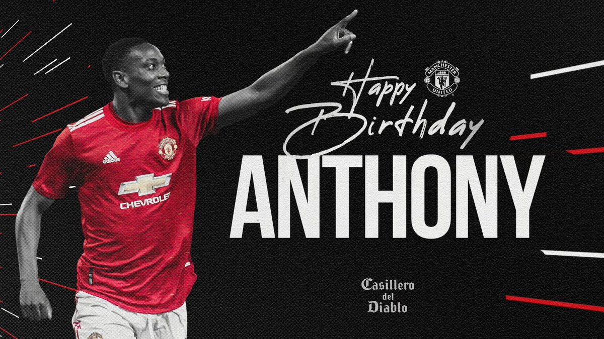 "🎵 ""Tony Martial came from France..."" 🇫🇷  Let's get that birthday W, @AnthonyMartial! 🎉  #MUFC @CasilleroDiablo"