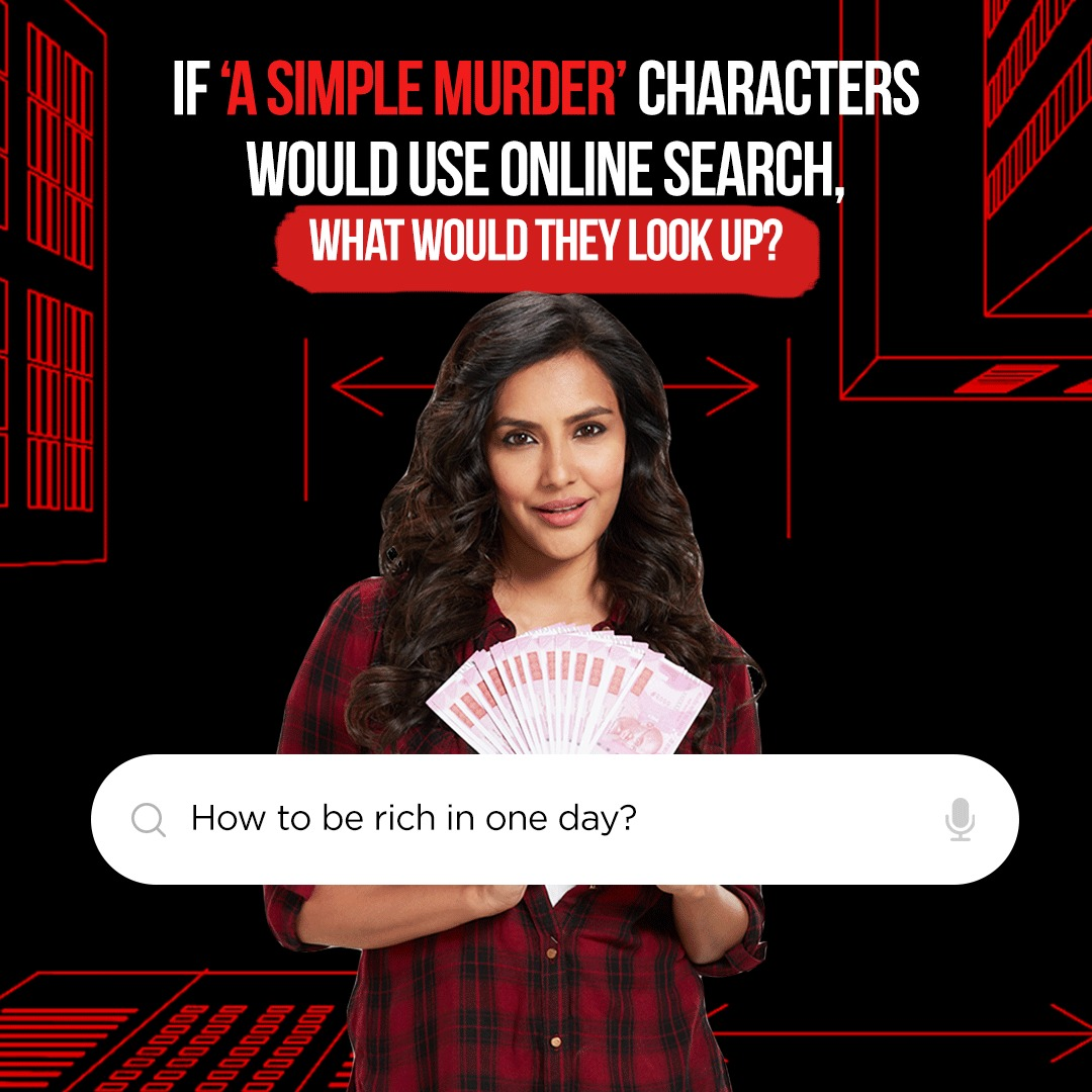 We peeked at the search history of these ASM characters and found this! Are you surprised? We bet not! 😀  Watch #ASimpleMurder, streaming now on #SonyLIV  @PriyaAnand @Mdzeeshanayyub @sushant_says @YashVidya @amit_sial @pathak_sachin85 @PO10TIAL_ART @PrateekPayodhi @AjayGRai