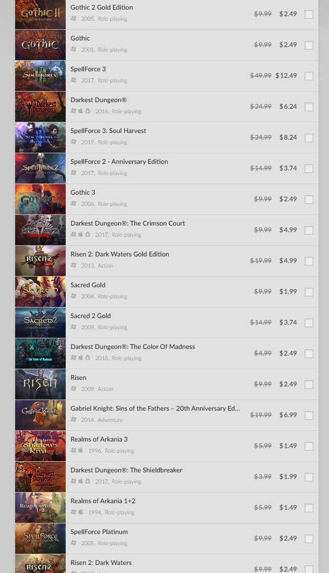 GOG weekend sale: games for all monster hunters 2