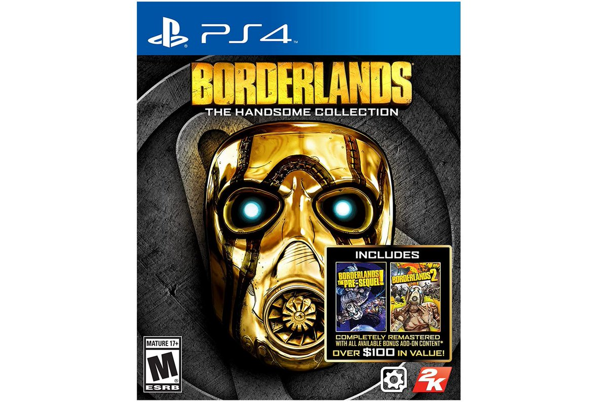 Borderlands: The Handsome Collection (PS4/X1) $9.88 via Walmart (Free Store Pick Up).  2