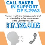 Image for the Tweet beginning: Have you called Governor Baker