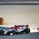 """First encounter with the Bahrain """"outer track"""" done👇🏻  RAI ➡️ P14 GIO ➡️ P15  #SakhirGP 🇧🇭"""