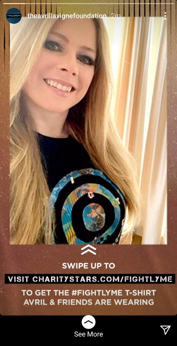Get your #FightLyme T-shirt 💚@AvrilFoundation