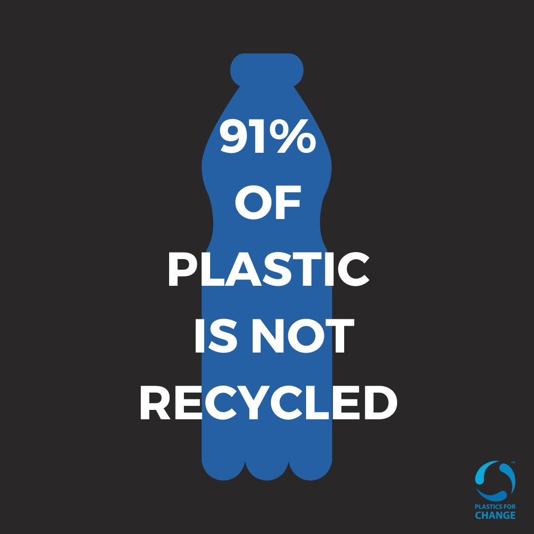 Crazy isn't it? Recycling has shown to be one of the most effective interventions in fighting the plastic pollution crisis, and each of us can play a part by: - Buying products made with recycled material - Supporting sustainable brands - Recycling what we use! #plasticsforchange