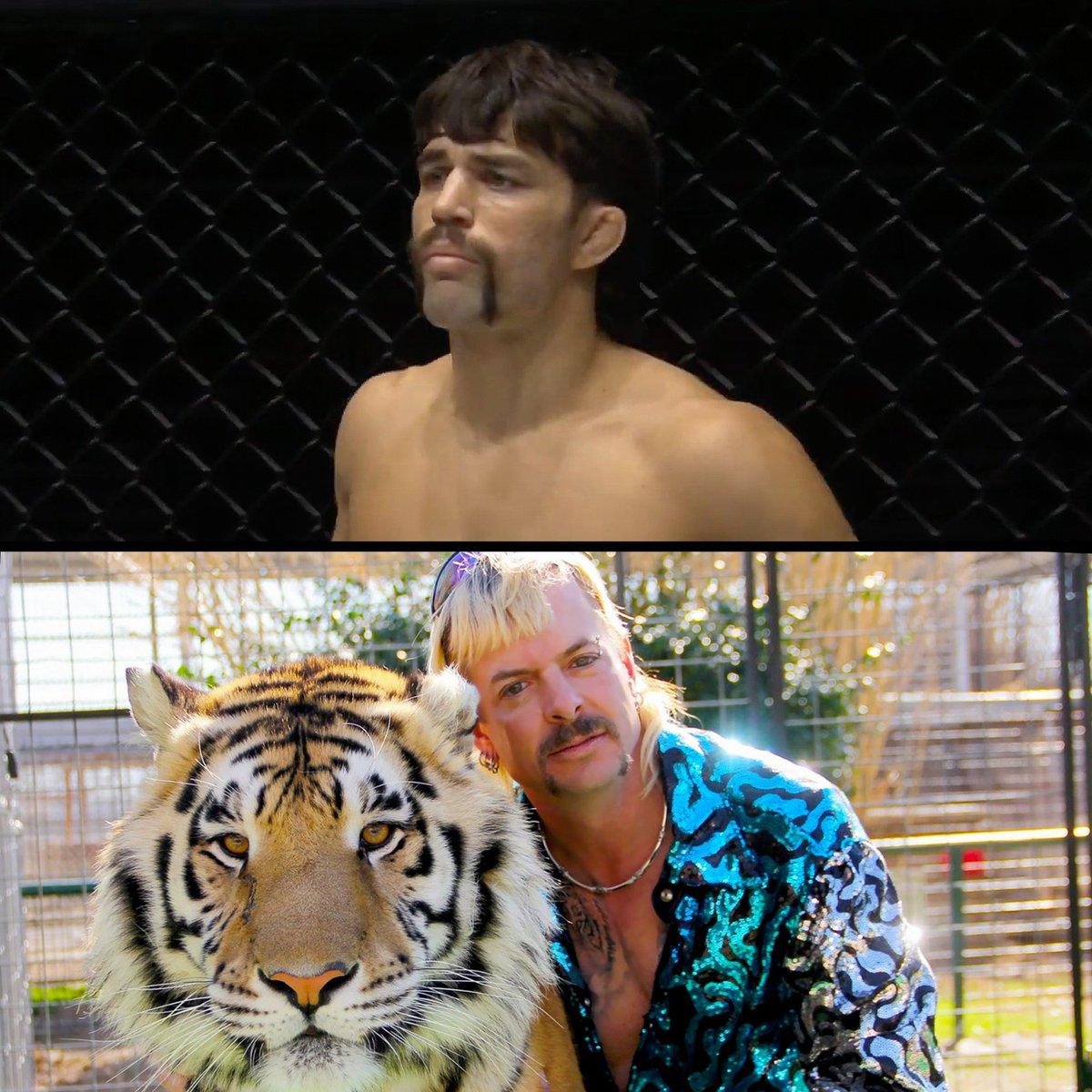 """Lion Killer""... or Tiger King? 🤠 @Garry_Tonon @joe_exotic #ONEBigBang #WeAreONE #ONEChampionship"