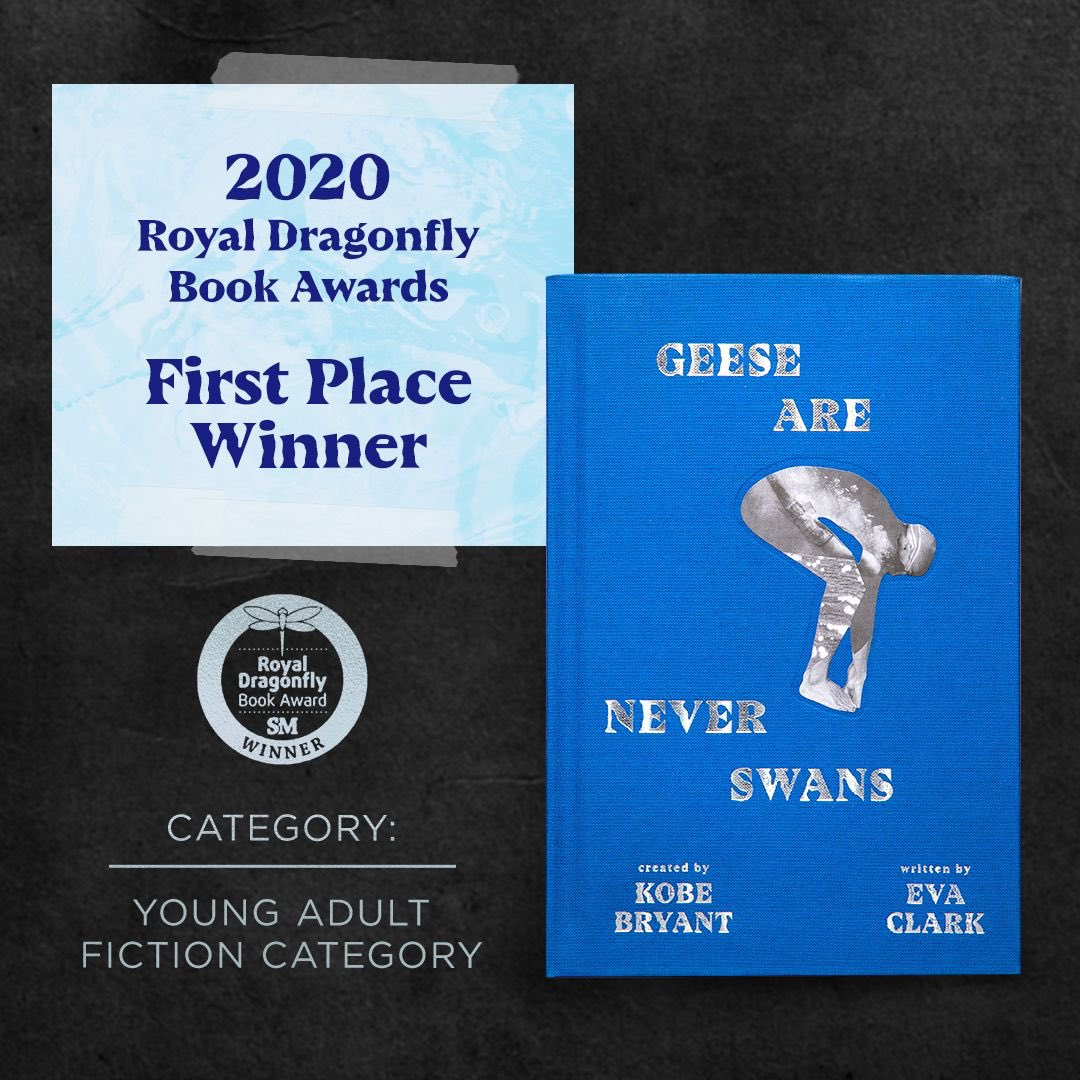 We're happy to announce #GeeseAreNeverSwans tied for first place in the Young Adult category in the Royal Dragonfly Book Awards. The journey continues with our next novel, #EPOCA: The River of Sand, out this Tuesday!