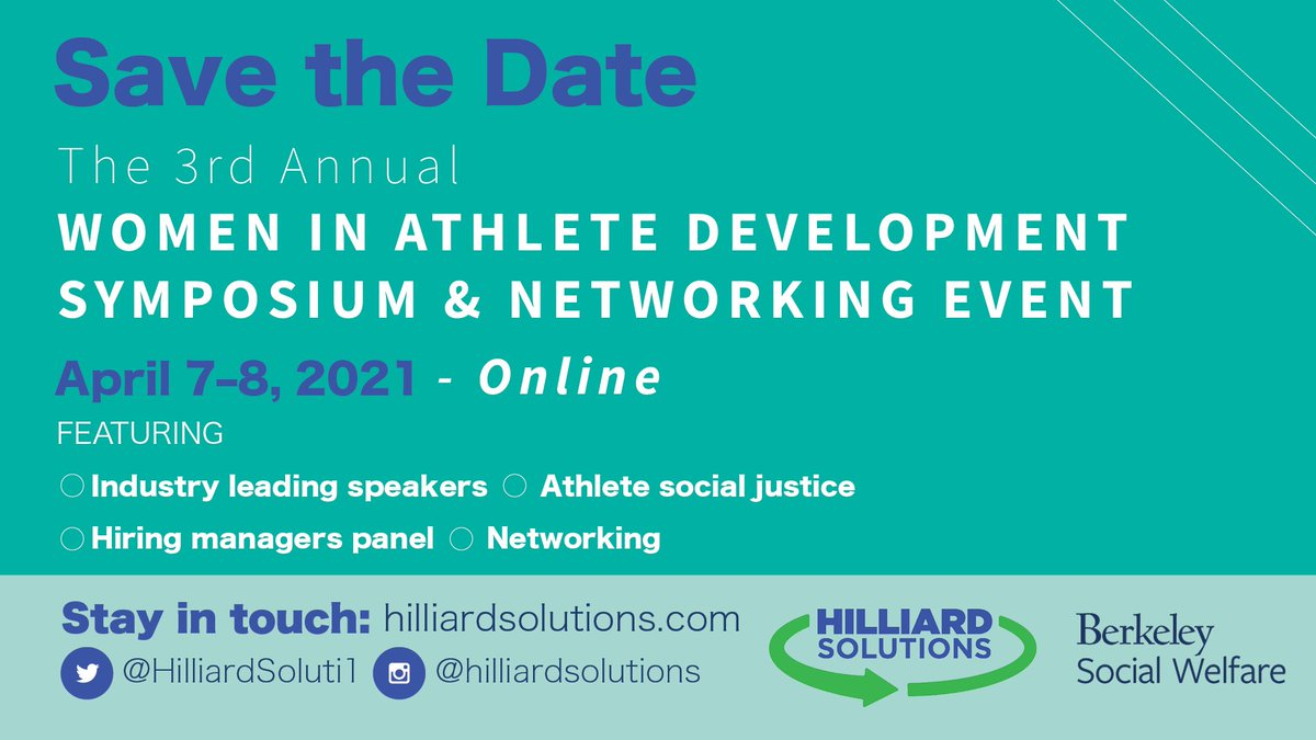 We've met so many great people who have an interest in getting into or moving within athlete development. Proud of our friend in Dr. Hilliard @drjhill81 and @HilliardSoluti1  for providing such a great symposium in partnership with @berkelysocwel. #anomalyinsights