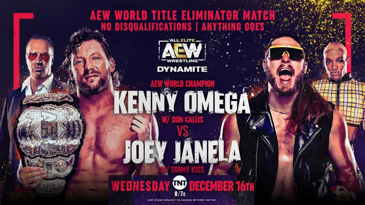 Special World Title Eliminator Match Announced For Dynamite