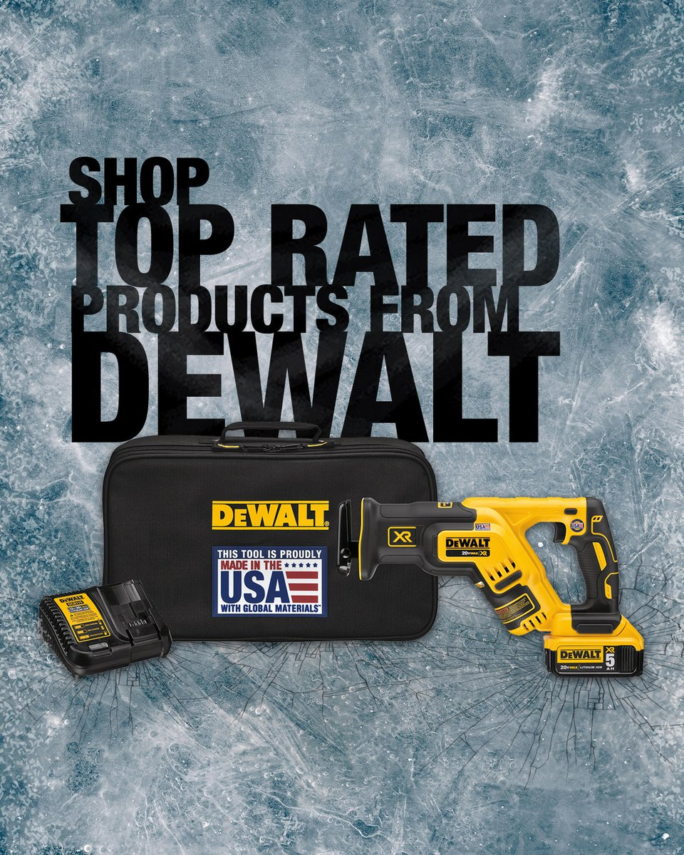 Need a toolbox upgrade? Check out these deals on top-rated DEWALT tools.