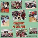 Image for the Tweet beginning: Christmas PJ Day 2020 was