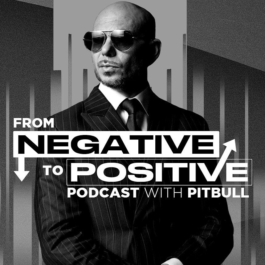 "#NEWS The brand new @Pitbull's Podcast ""From Negative to Positive"" featuring @TheSharkDaymond is OUT NOW! #FromNegativeToPositive #MrWorldwide #Pitbull ⠀⠀⠀⠀⠀⠀⠀⠀⠀ Listen to it here:"
