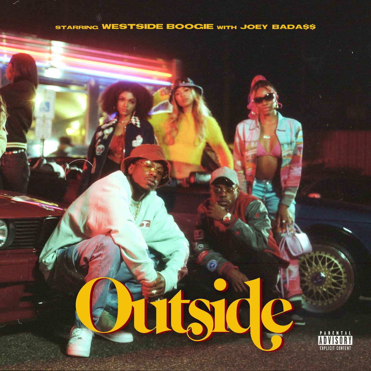 WESTSIDE BOOGIE & Joey Bada$$ release their collaborative track 'Outside'  [@WS_Boogie @joeyBADASS]