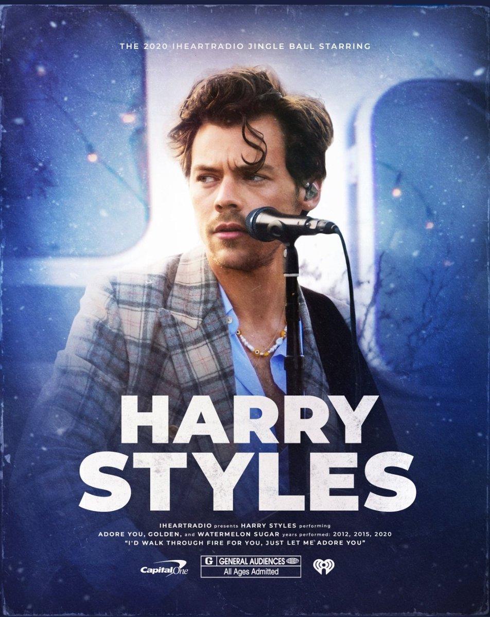 @Harry_Styles  what amazing performance💚 #BestofCapitalJBB #iHeartJingleBall2020 #Capitalfm