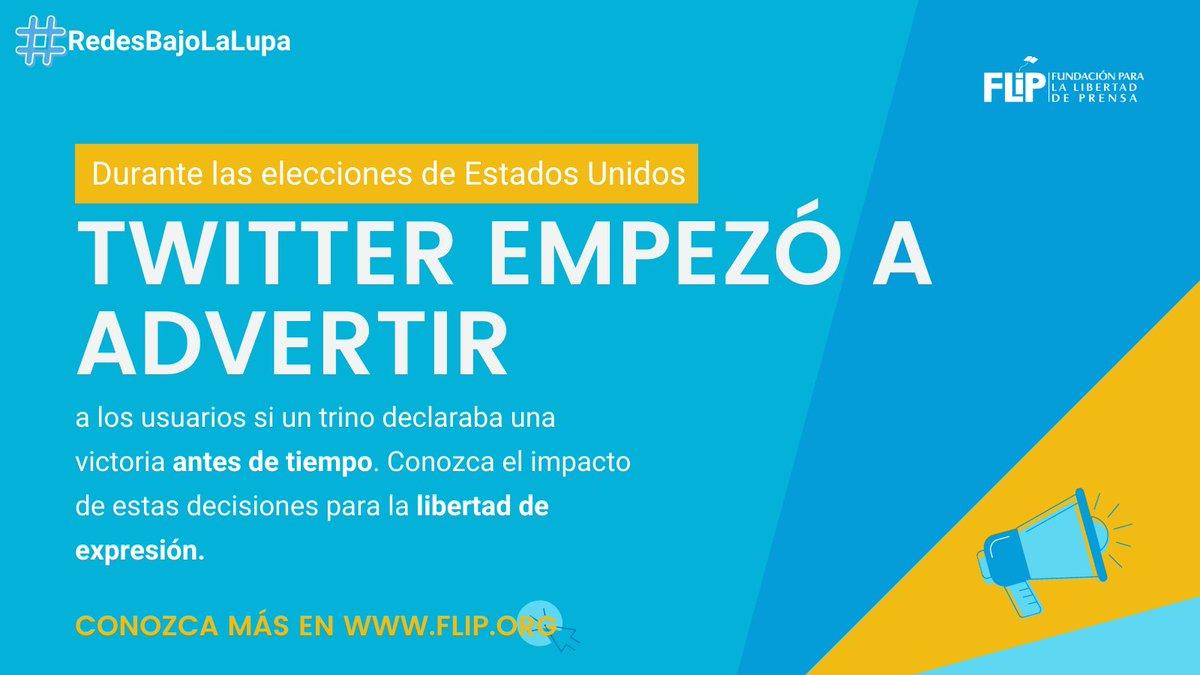 #RedesBajoLaLupa |🗳️En elecciones, las redes pueden servir para información falsa.  Por eso, para las #EleccionesUSA2020, @Twitter por primera vez etiquetó tuits con advertencias sobre la legitimidad de la información.⚠️  🧵Aquí discutimos esas medidas👇🏽