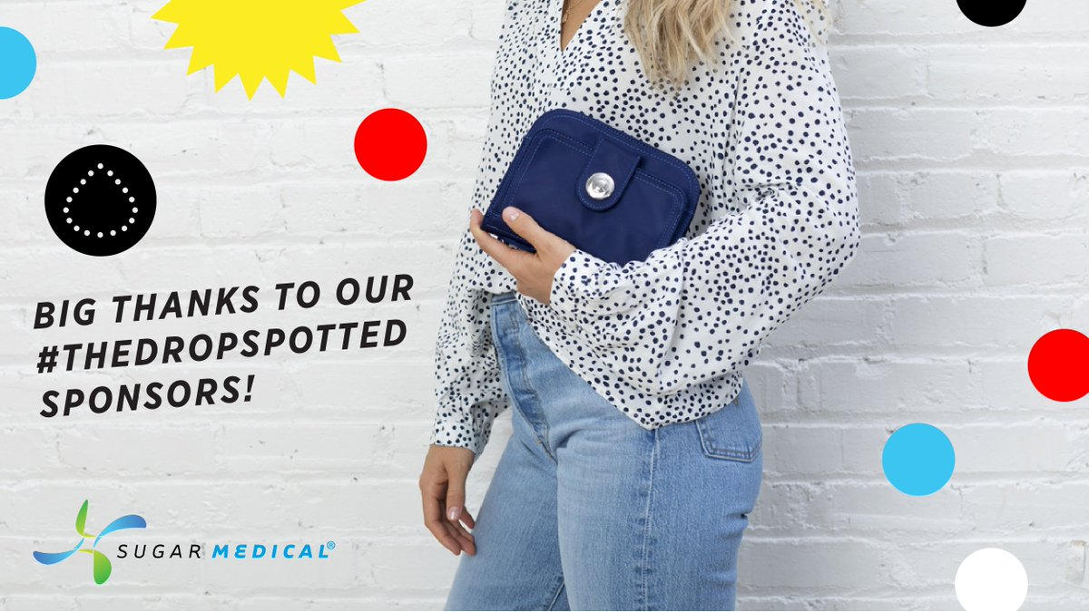 Major thanks to our friends at Sugar Medical () for their support of Beyond Type 1 + their generous donation this November for National Diabetes Awareness Month. #TheDropSpotted  Thank you for your work in supporting everyone living with diabetes.