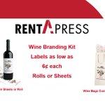 Image for the Tweet beginning: 🍷 Introducing Wine Label Branding