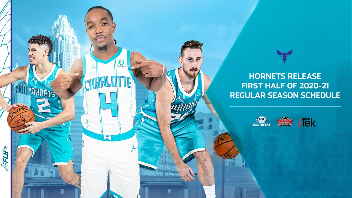 IT'S HAPPENING! After 268 days without Hornets basketball, the Buzz Boyz are BACK! 📆 🐝  🔗: https://t.co/UZ4jWIllxj https://t.co/hDTjGMQozT