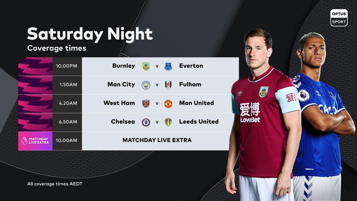 Football never stops and you never sleep 😴  Saturday night.   Sunday morning.   #PL on #OptusSport 📺