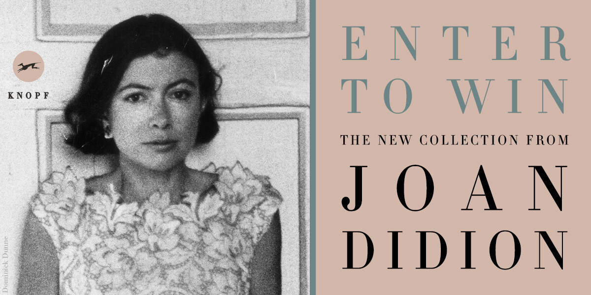 So I hear you're all excited about a new Joan Didion book 👀  💻:   What if you could win a copy? 🧐