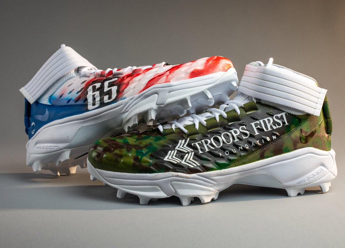I may not be playing on Sunday, but I will still be supporting our military & the Troops First Foundation for #MyCauseMyCleats! 🎖️🇺🇲 A big salute to all of our veterans! 🙌 #StonewallJohnson