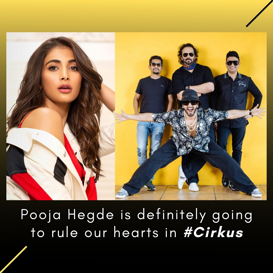 Can't wait to see the extremely  talented and adorable @hegdepooja in #Cirkus.  . . #PoojaHegde