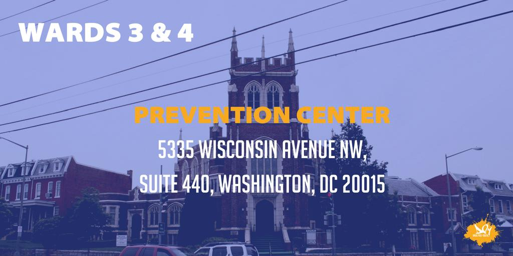 Your neighborhood prevention centers provide resources for building a drug-free community for children, youth and families. The DC Prevention Center for Wards 3 and 4 is @dcpcwards3and4! Follow them to know what's happening near you. #DCPrevention #DrugFreeDC
