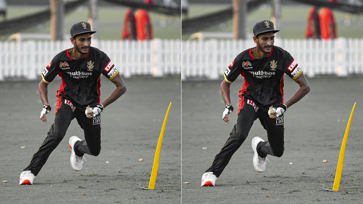 There's only ☝🏻 Shahbaz, but there are 3️⃣ differences in the pictures.   Can you spot them all, 12th Man Army? 👀   #PlayBold #WeAreChallengers