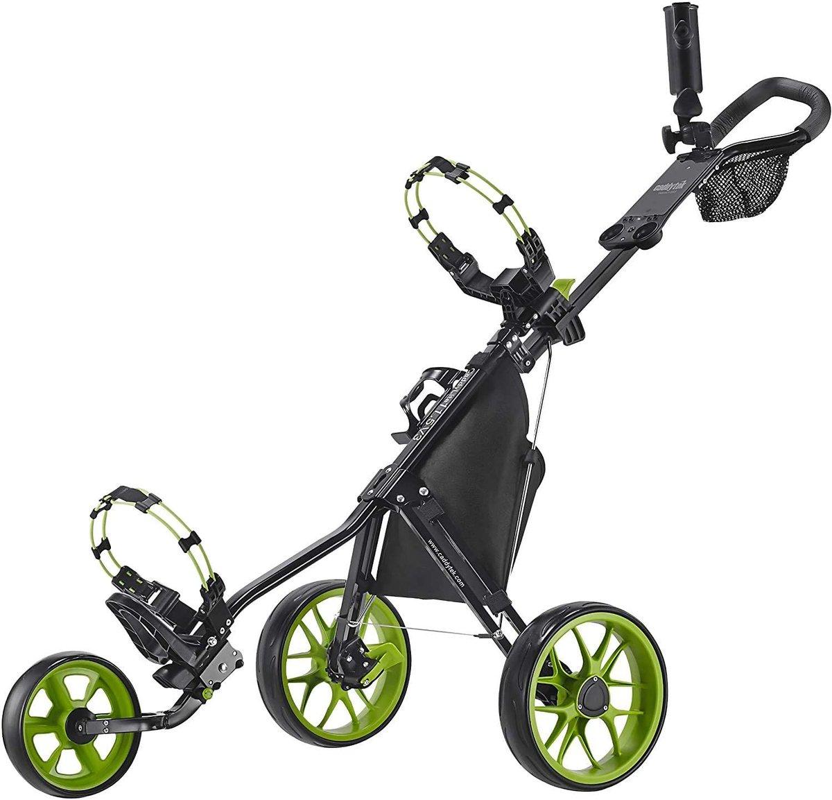 Caddytek CaddyLite 3 Wheel Golf Push Cart restocked + under retail  Click here to order