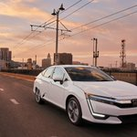 Image for the Tweet beginning: Take a drive. #HondaClarity Plug-In