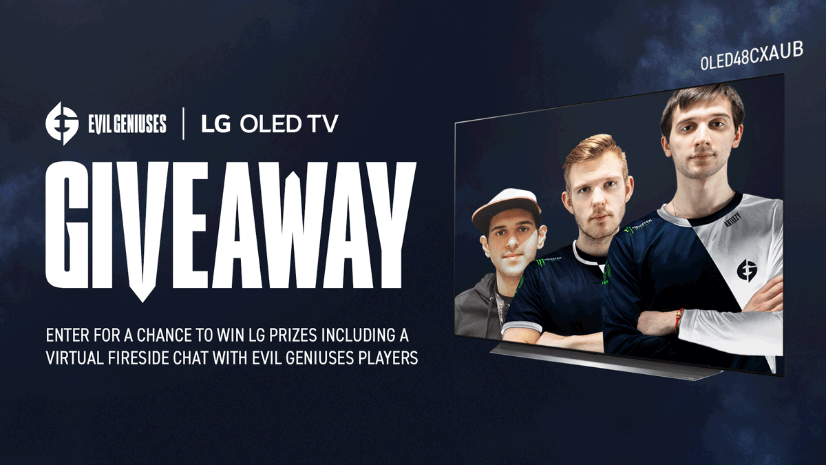 LAST CHANCE TO ENTER 🚨  Enter to win: • @LGUS 48CX #LGOLEDTV—the ultimate gaming TV that delivers movielike gameplay for next-gen consoles • @secretlabchairs EG Gaming Chair • Private event with @Arteezy, @Cr1tdota, and @BuLbaDotA_ + More   | #LGPARTNER